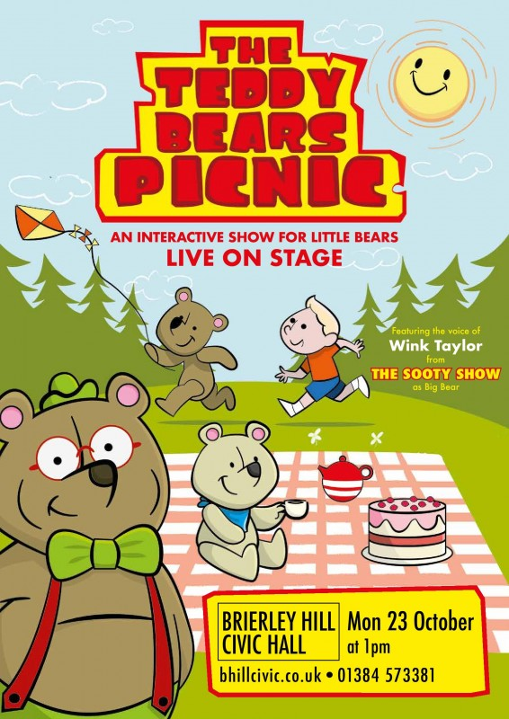 Teddy Bear's Picnic + Kids Disco.