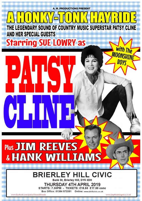 Patsy Cline & Friends, 4th April 2019