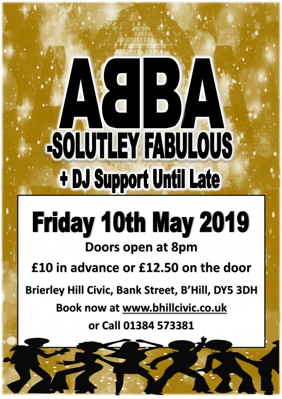 Abbasoloutly Fabulous + DJ Support Until Late, 10th May 2019