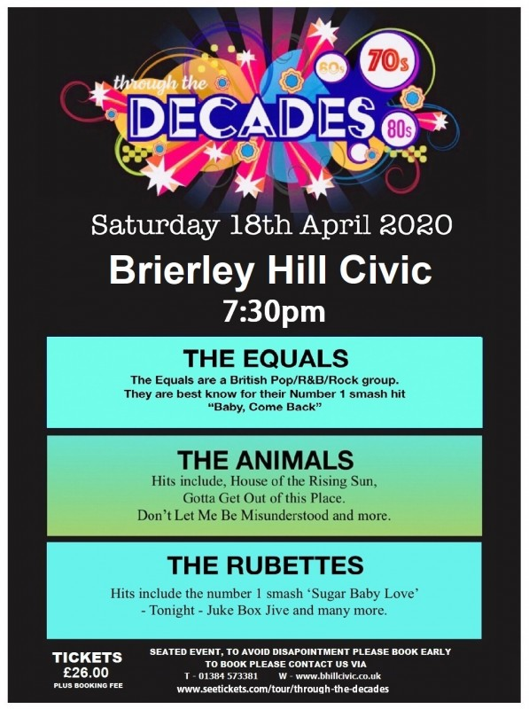 Through The Decades, 18th April 2020