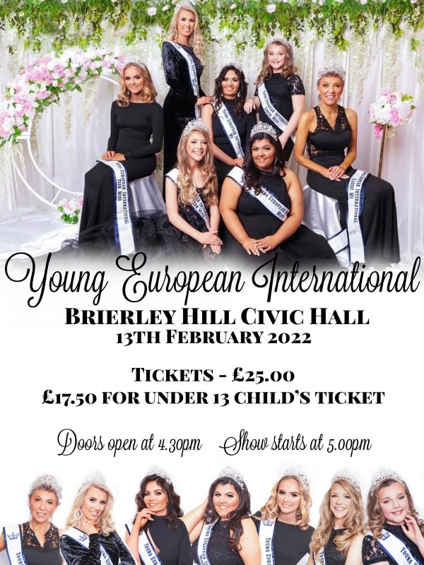 Young European International Pageant, 13th February 2022