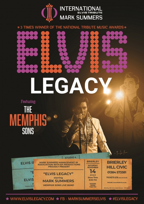Mark Summers - Elvis Legacy, 14th November 2020