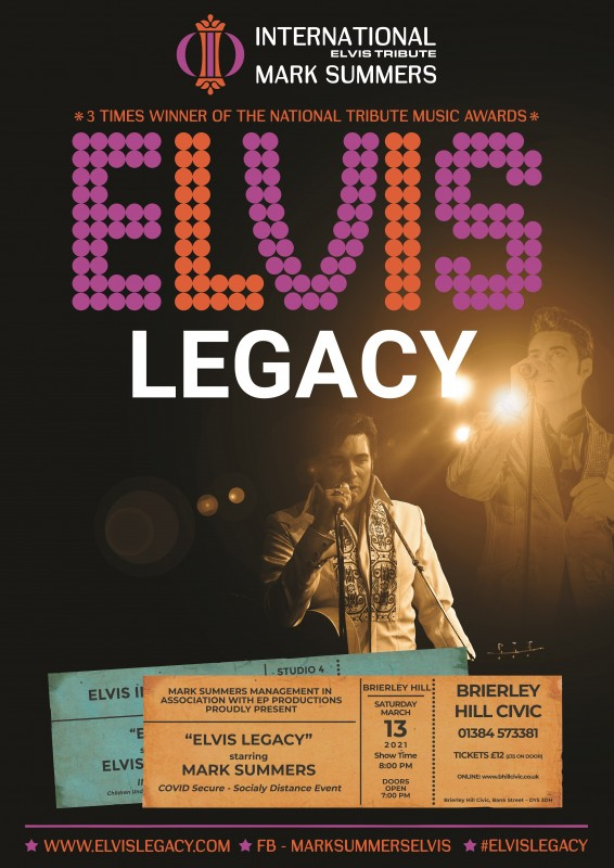 Mark Summers - Elvis Legacy, 13th March 2021