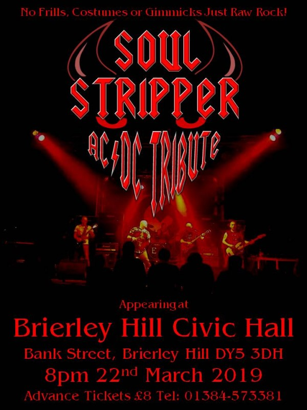 AC/DC Tribute- Soul Stripper, 22nd March 2019