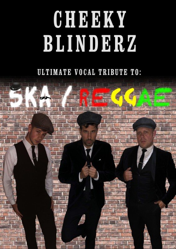 Cheeky Blinderz Ska & Reggae Night including DJ Support Until 1am, 16th March 2019