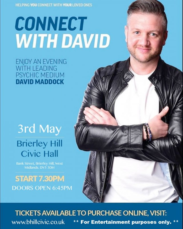 Connect With David. A Psychic Evening.