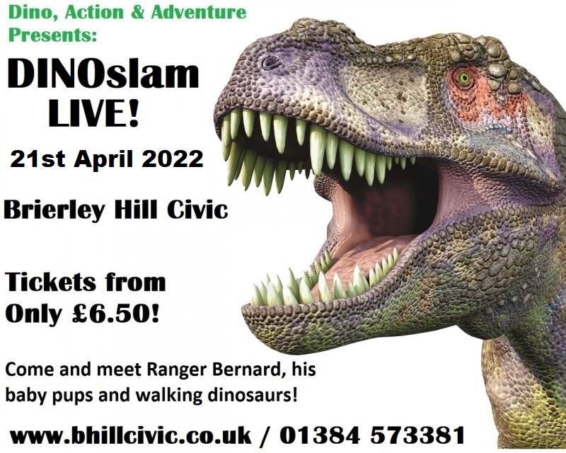 DINOslam Live! 21st April 2022