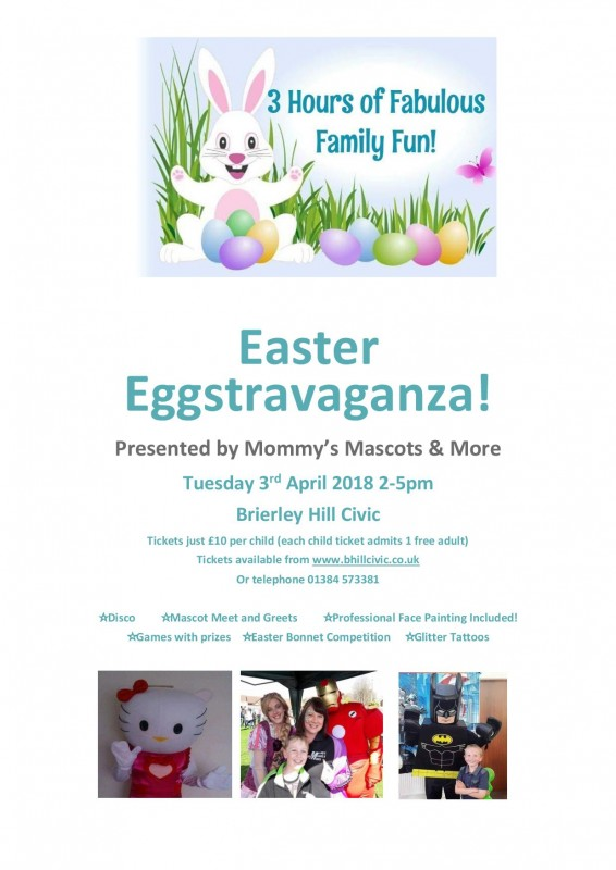 Easter Eggstravaganza! 3rd April 2018