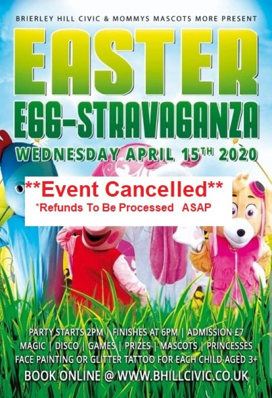 **CANCELLED** An Egg-cellent Easter Party, 15th April 2020