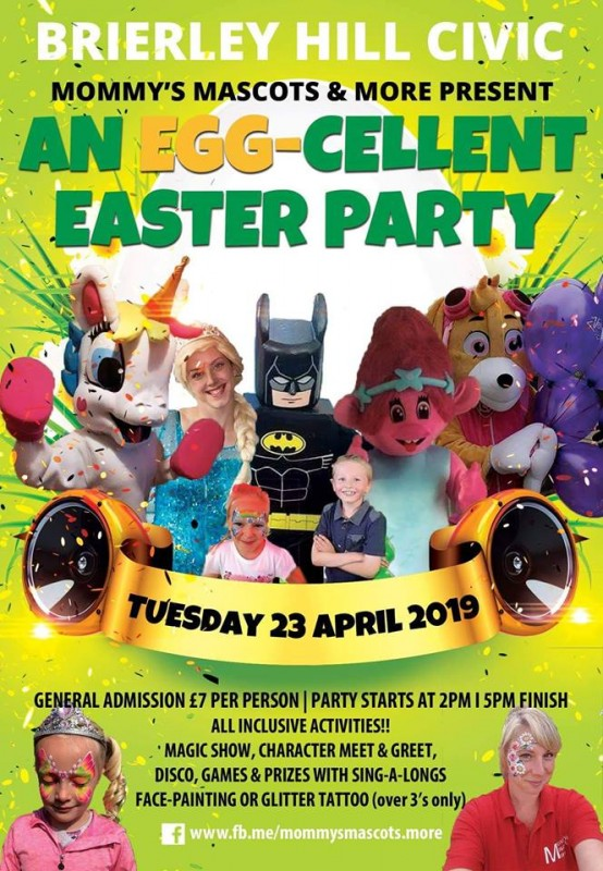 An Egg-cellent Easter Party, 23rd April 2019