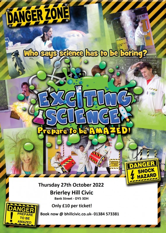 Exciting Science - 27th October 2022