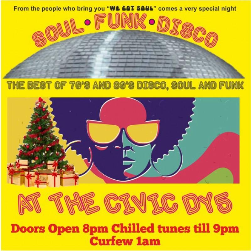 Christmas Soul Funk Disco, 3rd December 2021