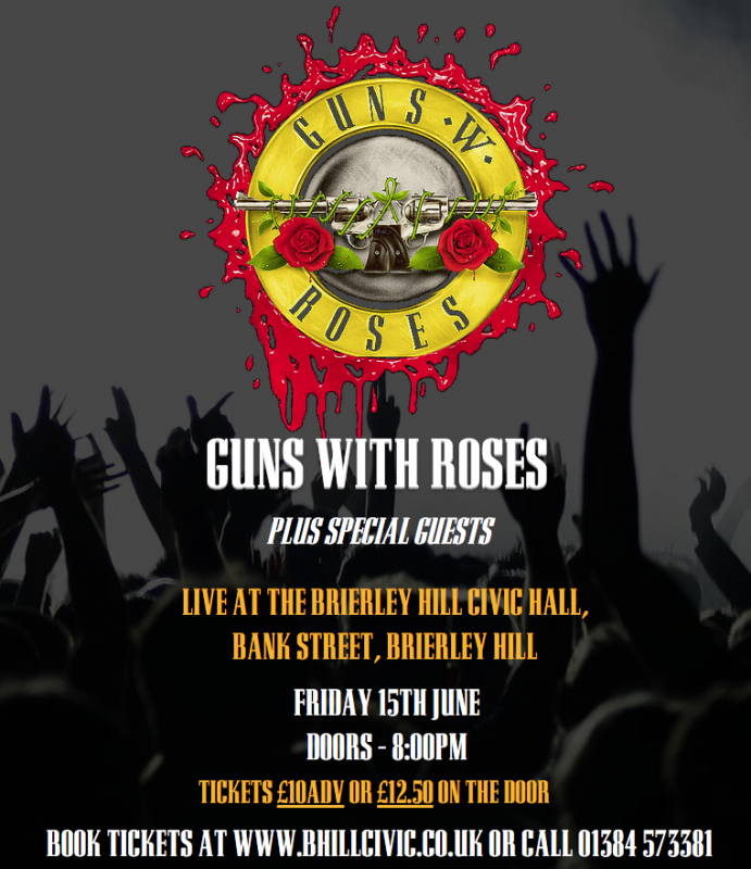 Guns With Roses, Friday 15th June 2018