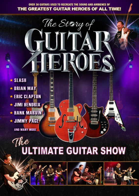 The Story Of Guitar Heroes, 18th November 2021