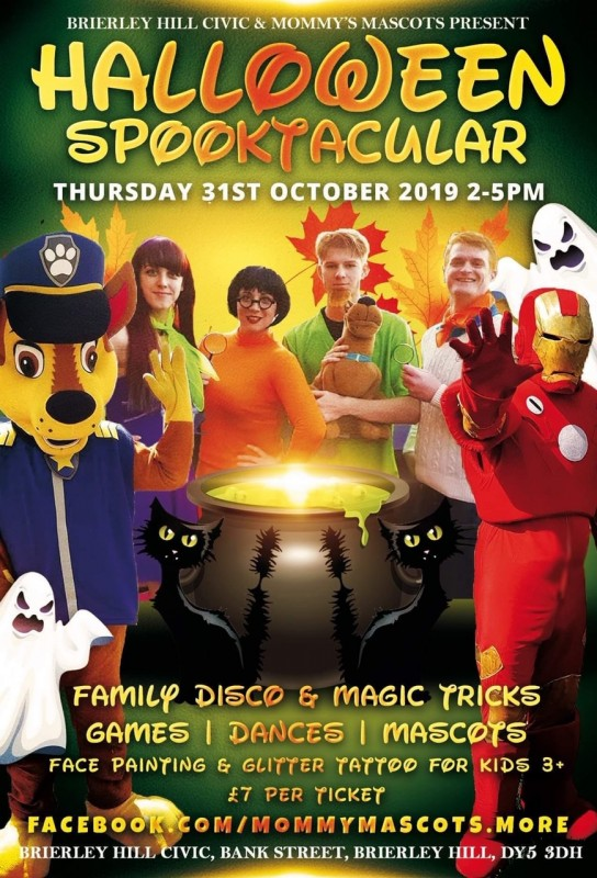 Halloween Family Spooktacular, 31st October 2019