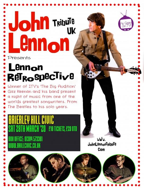 Lennon Retrospective + Full Band, 28th March 2020