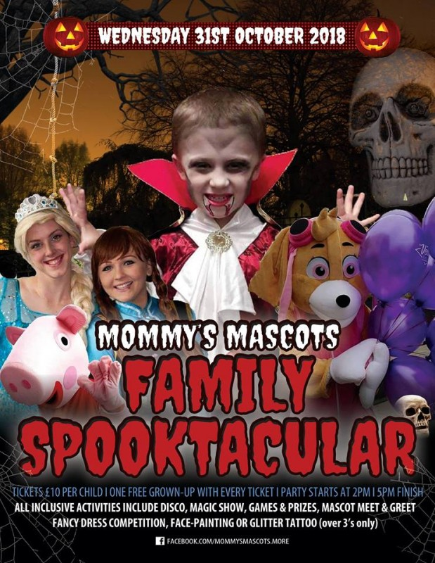 Halloween Family Spooktacular, 31st October 2018
