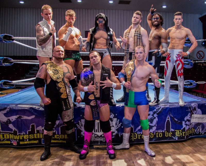 LDN American Wrestling Event, 20th February 2018