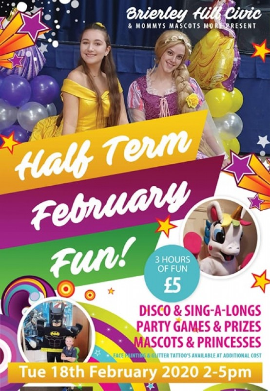 February Half Term Party, 18th February 2020