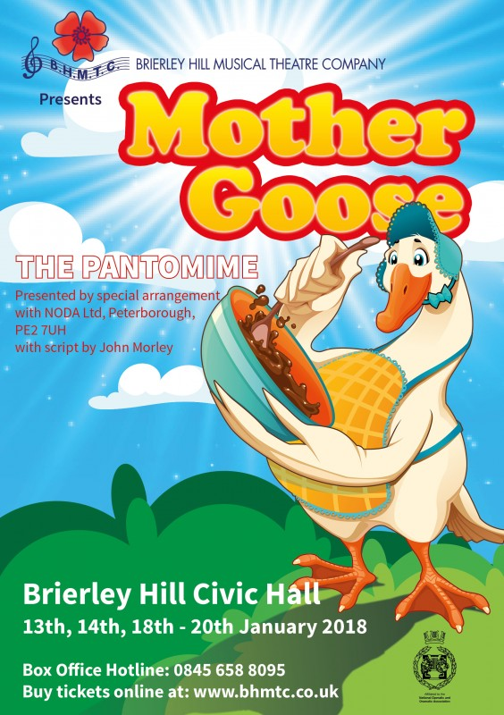 BHMTC Presents: Mother Goose, The Panto. From 13th January 2018
