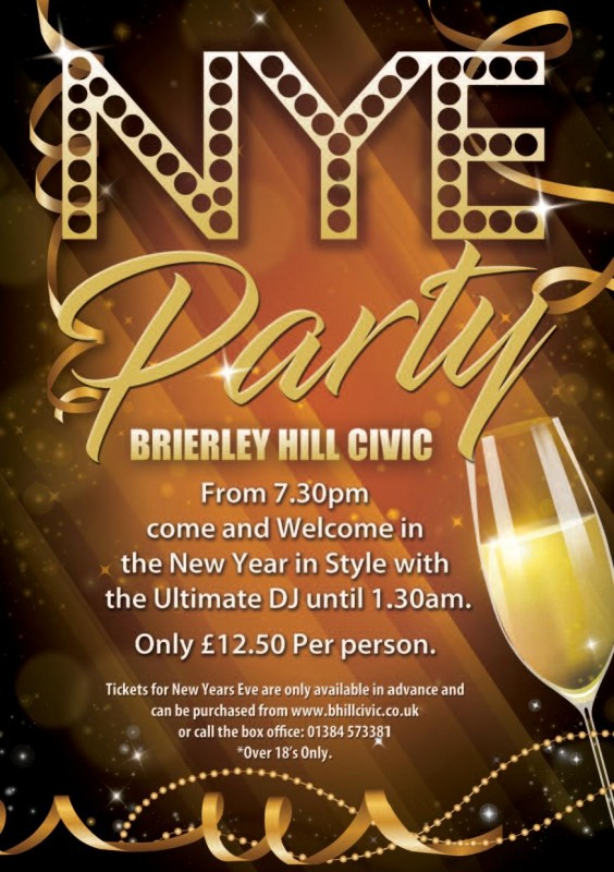 New Years Eve Party Night, 31st December 2019