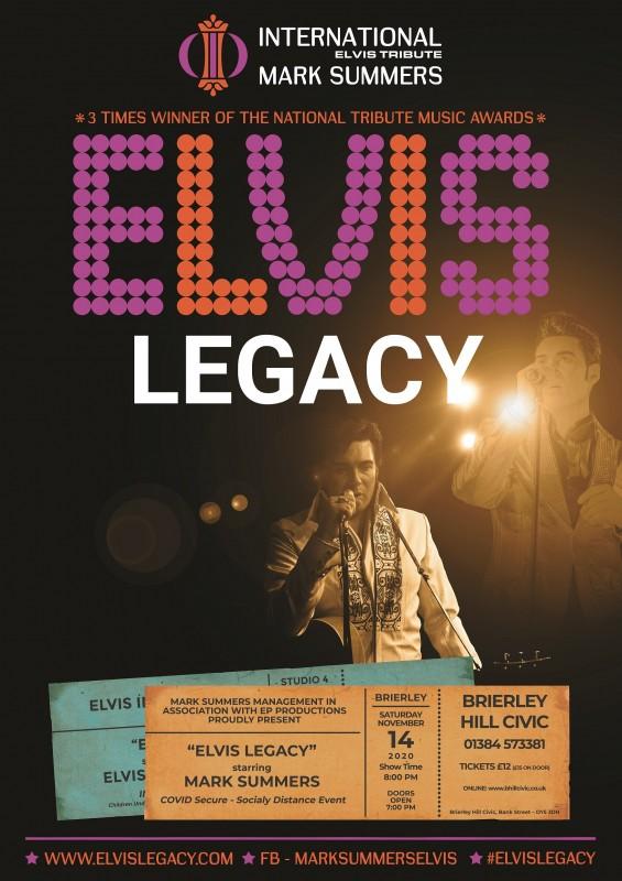 Mark Summers - Elvis Legacy, 14th November 2020