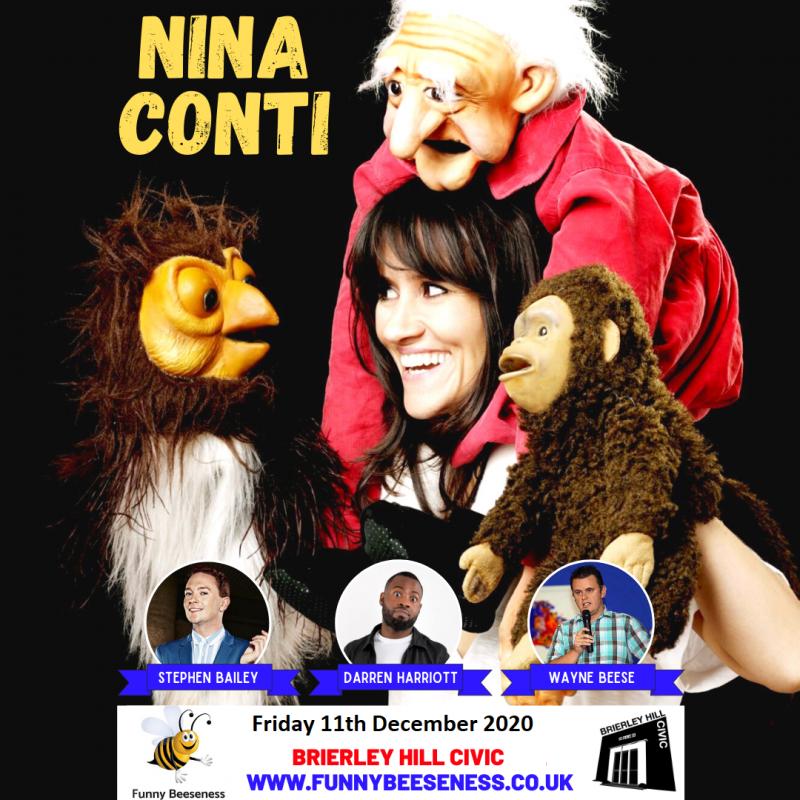 Live At The Civic - Nina Conti, November 21st 2020