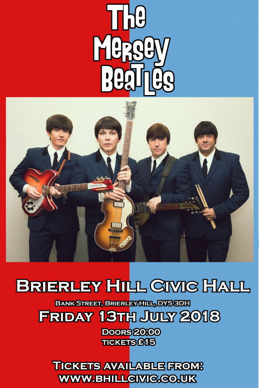 The Mersey Beatles, 13th July 2018