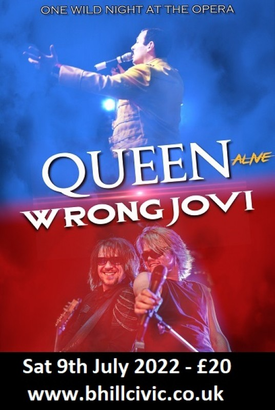 Wrong Jovi Vs Queen Alive, 25th June 2021