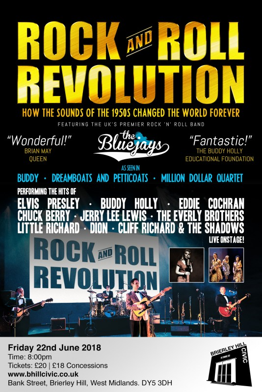 The Bluejays Rock and Roll Revolution, 22nd June 2018