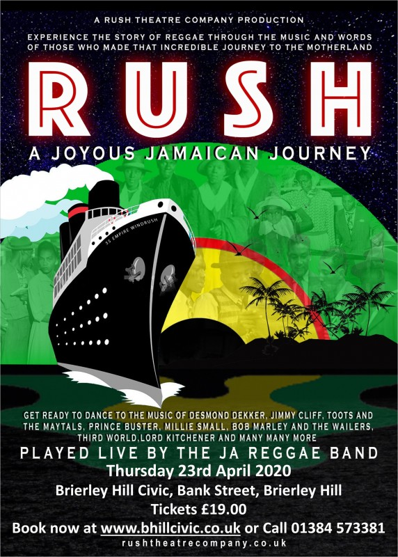 Rush, A Joyous Jamaican Journey, 23rd April 2020
