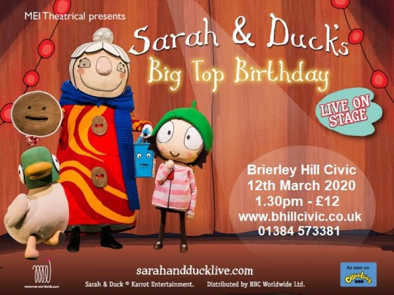 Sarah & Duck's Big Top Birthday. 12th March 2020