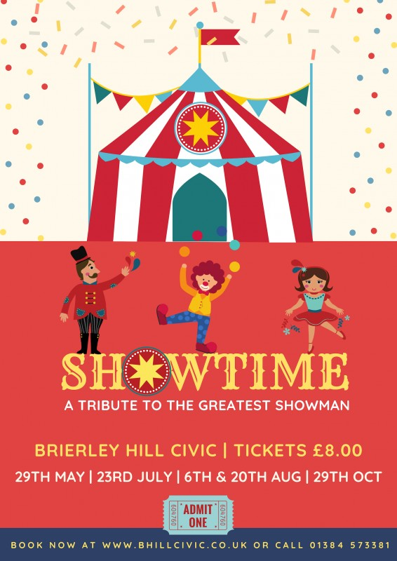 Showtime! - A Tribute To The Greatest Showman, 29th May 2019