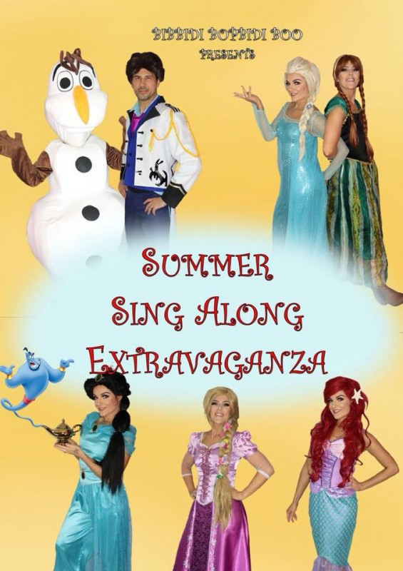 Summer Sing Along Extravaganza. 7th August 2018