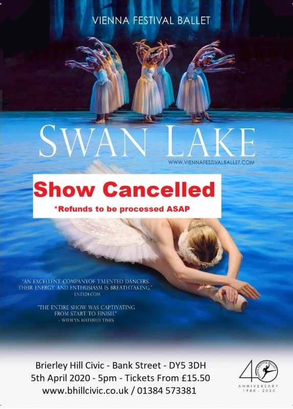 **CANCELLED** Vienna Festival Ballet presents: Swan Lake, 5th April 2020