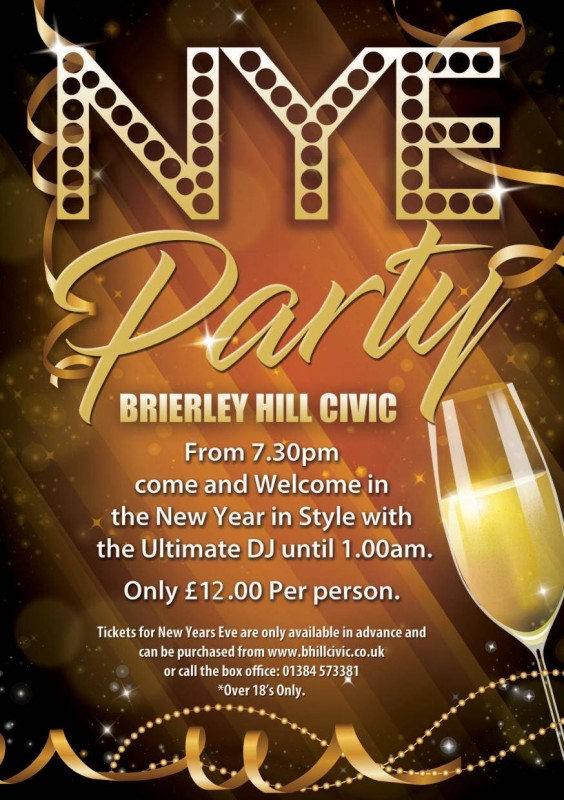 New Years Eve Party Night, 31st December 2021