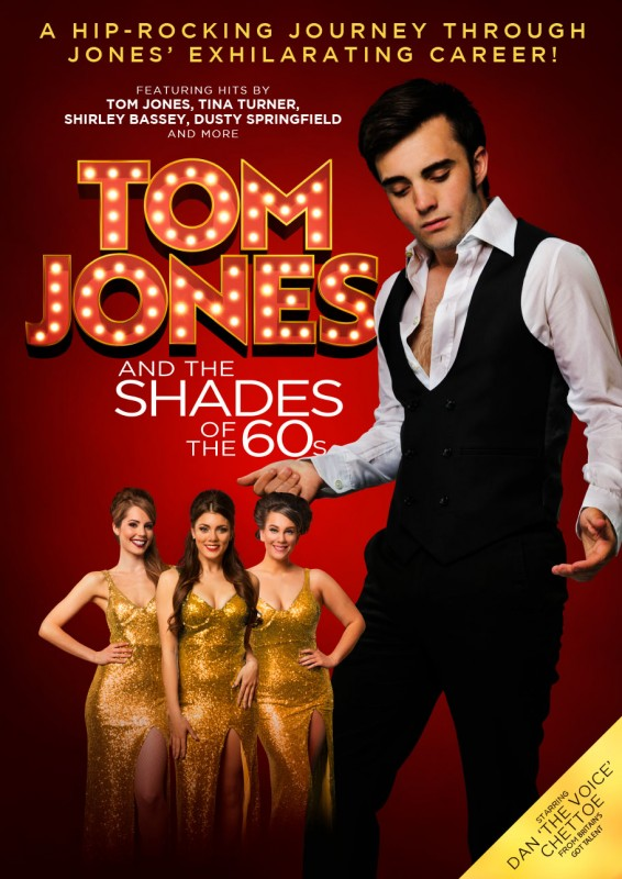 Tom Jones and The Shades of the 60's, 14th March 2019