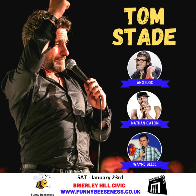 Live At The Civic - Tom Stade, November 28th 2020