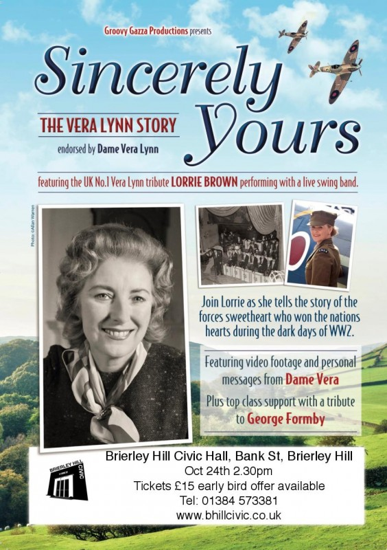 The Vera Lynn Story. 24th October 2017