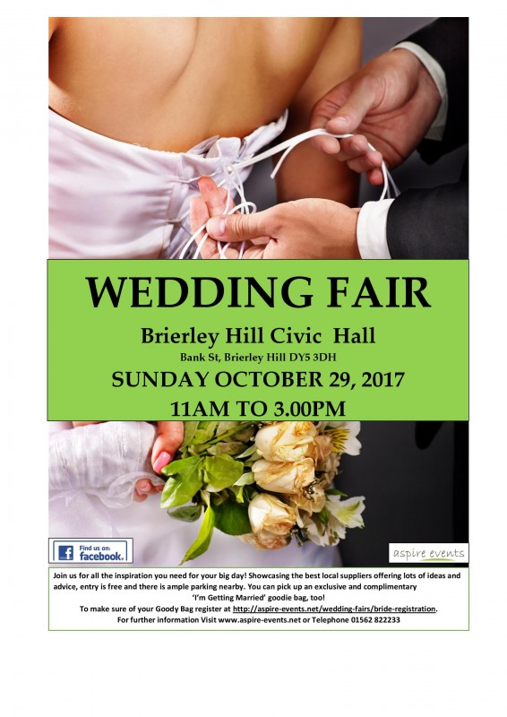Wedding Fair 29th October 2017