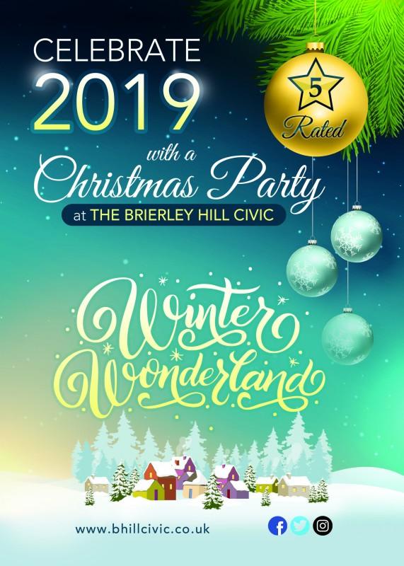 Christmas Parties 2019. 'Winter Wonderland'