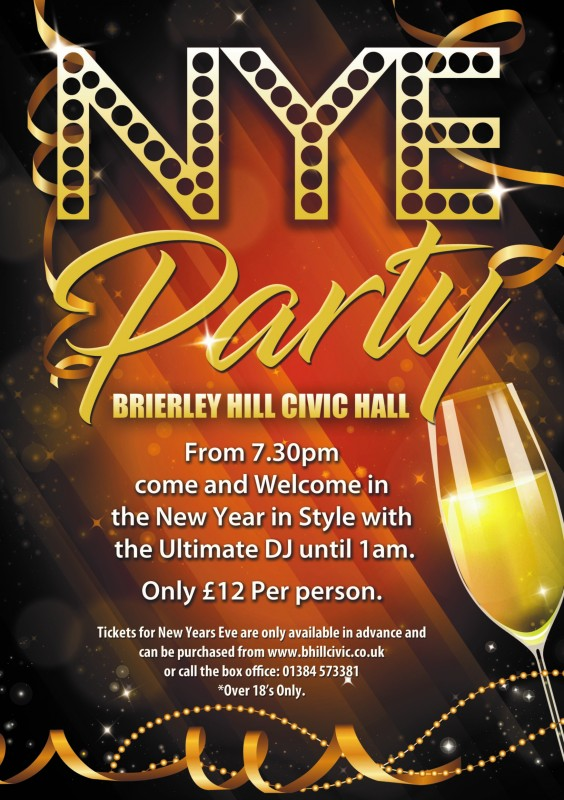 New Years Eve Party Night, 31st December 2018