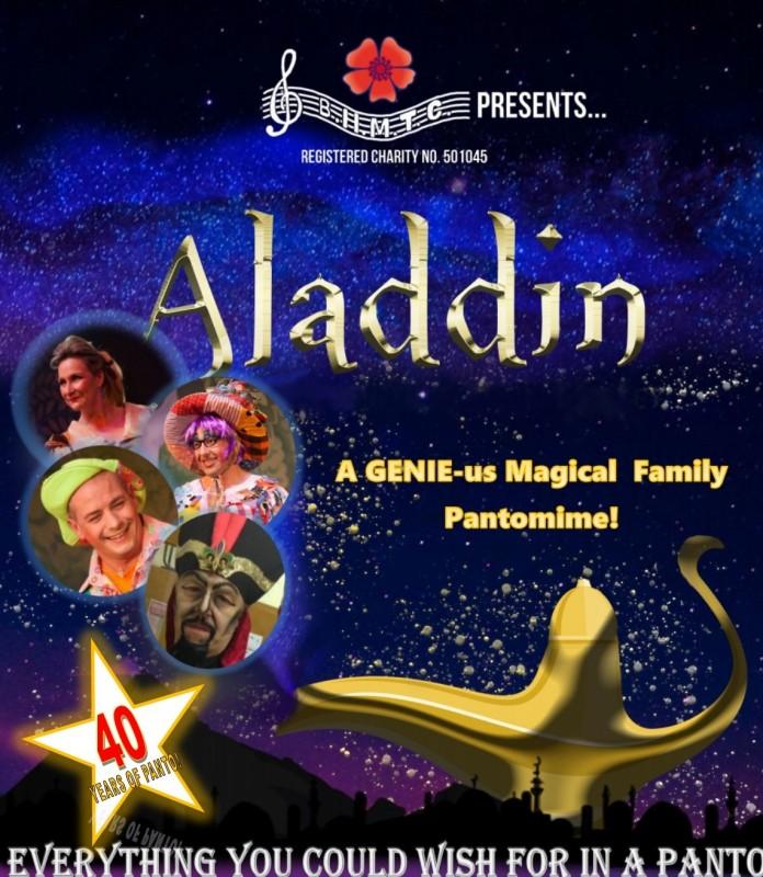 BHMTC 2022 Pantomime: - Aladdin, 22nd - 29th January 2022