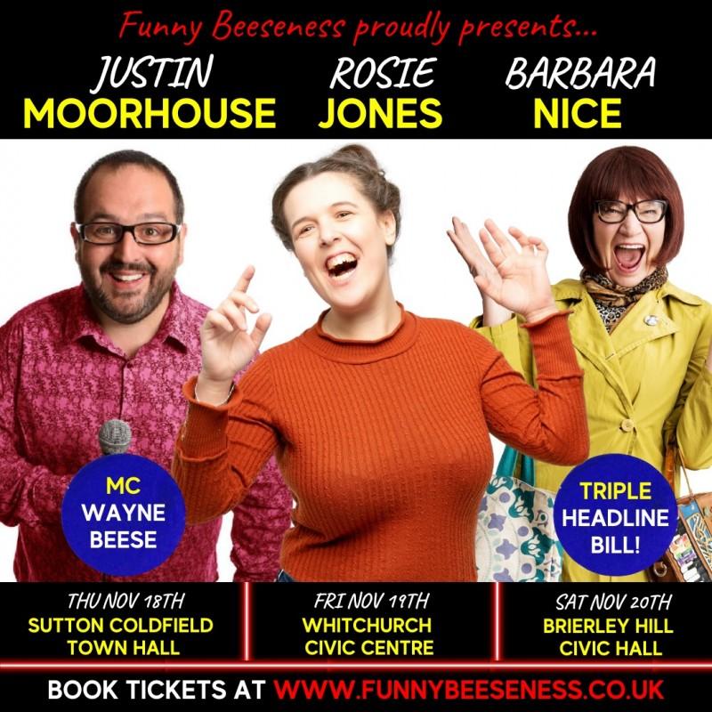 Live At The Civic Triple Headline Comedy Night, 20th November 2021
