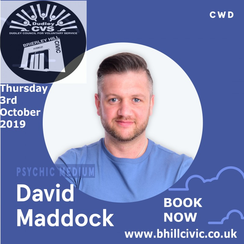 David Maddock's Connect Tour, 3rd October 2019