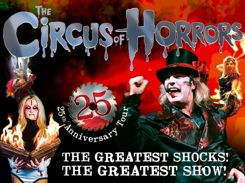Circus Of Horrors, Official 25th Anniversary Show, 17th November 2019