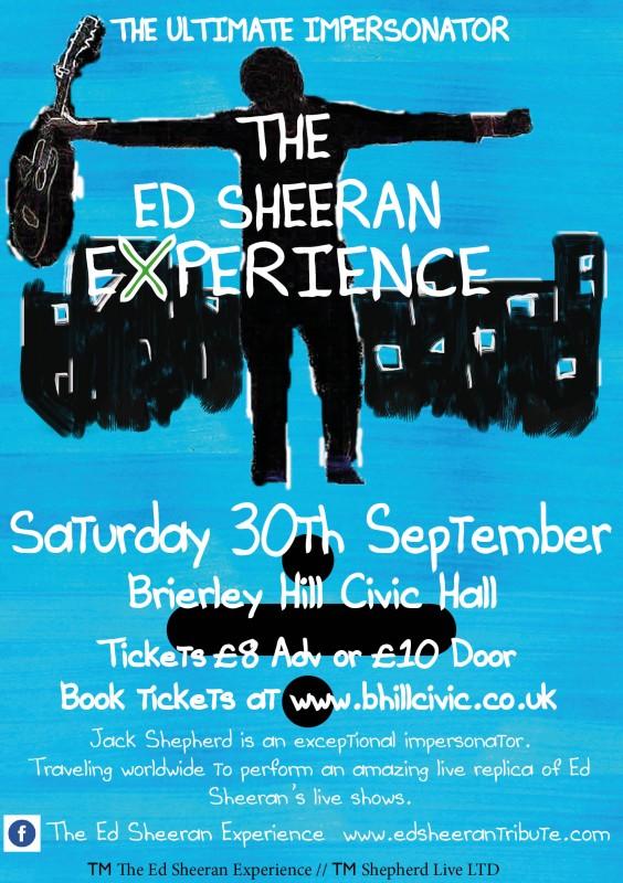 The Ed Sheeran Experience + DJ Until Late