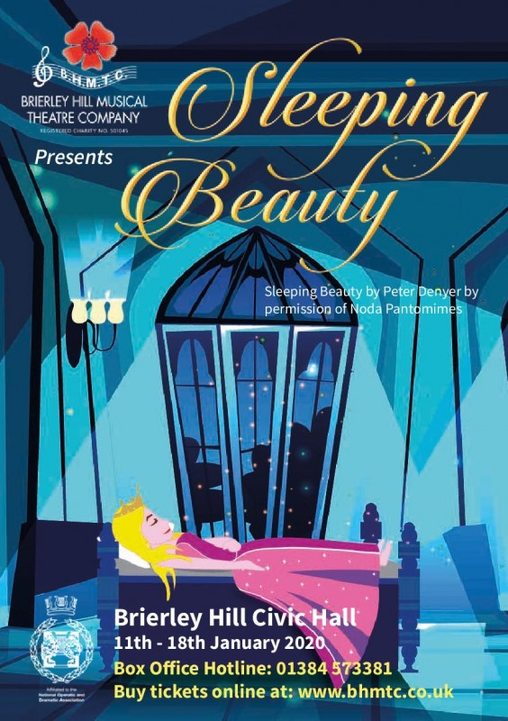 BHMTC Presents: Sleeping Beauty The Pantomime - 11th - 18th January 2020,