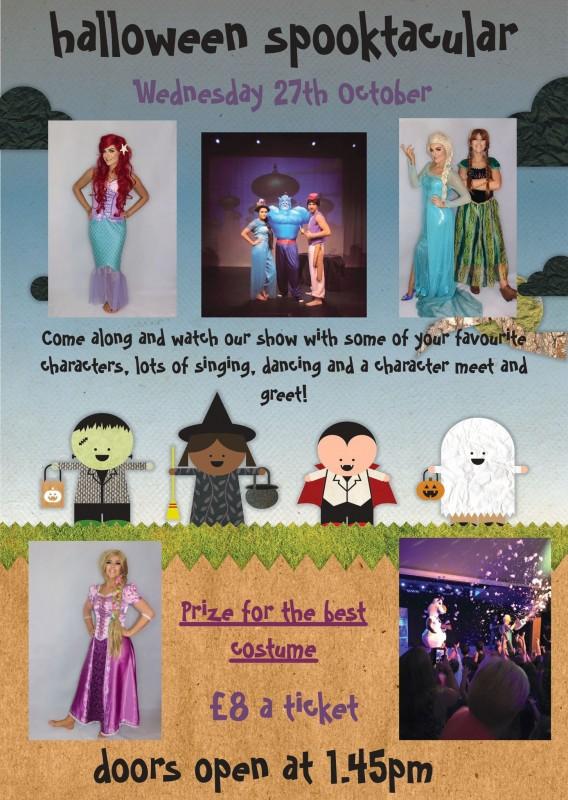 Halloween Spooktacular Show. 27th October 2021