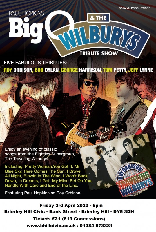 Big 'O' and The Travelling Wilburys, 3rd April 2020